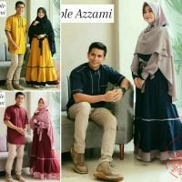 couple azzami 21 - gamis syari dan koko - pakaian muslim keluarga