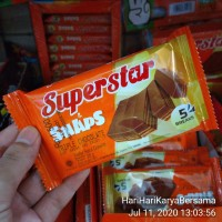 SUPERSTAR SNAPS WAFER TRIPLE CHOCOLATE 28GR