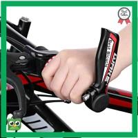 Hot Sale WAKE Bar End Tanduk Grip Handlebar Sepeda MTB Red