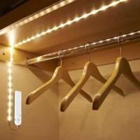 Lampu LED Strip dengan Sensor Gerak 1M