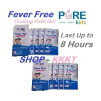 Pure Kids Fever Free ( plester penurun deman Anak-anak ) isi 4 pcs