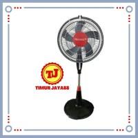Trisonic Kipas Angin Berdiri Stand Fan - 1601 - 16 Inch Garansi