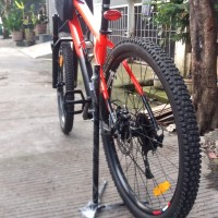 Standar Sepeda Paddock Pancing paddock Berdiri
