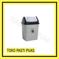 Tempat Sampah Segi Tutup Goyang 5 Liter Shinpo 820 S Plastik