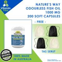 Nature's Way Odourless Fish Oil 1000mg Natures Way Fish Oil
