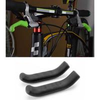 Silikon Cover Pelindung Handle Rem Tangan Sepeda 2 PCS Anti Slip