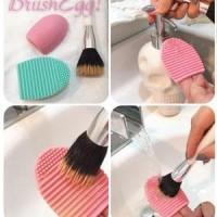Palingmurah Brush Egg - Alat Pencuci Kuas Make Up Stockterbatas