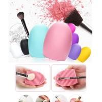 Produkbaru Brush Egg Cleaner Pembersih Kuas Makeup Make Up Kosmetik