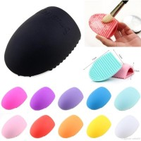 Palingmurah Brushegg Pembersih Kuas Brush Egg Silikon Readystock
