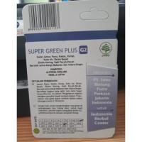Ready Stock!! Super Green Plus G2 Obat Herbal Gatal Jamur Eksim Alergi