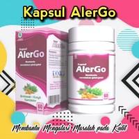 Ready Stock!! Kapsul Alergo Herbal Bersih Darah Obat Gatal Eksim
