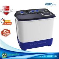 Mesin cuci 2 Tabung Aqua Sanyo 10 KG 1050 Cuci dan Kering