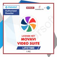 Lisensi Key Movavi Video Suite - ORIGINAL