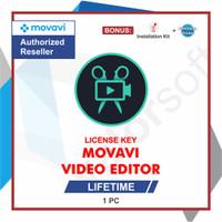 Lisensi Key Movavi Video Editor - ORIGINAL