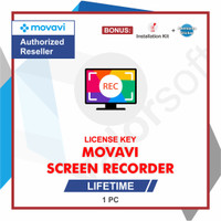 Lisensi Key Movavi Screen Recorder - ORIGINAL