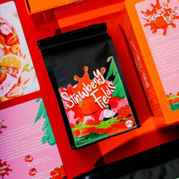 Strawberry Fields (200 gr) roasted beans specialty coffee biji kopi