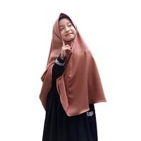 Yasta Fashion - Jilbab Instan Kerudung Syari Anak Polos Murah- Milo - M