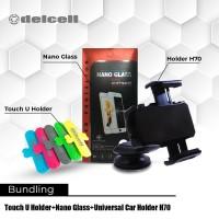 Promo Bundling Touch Holder + Nano Glass + Car Holder H70