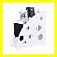 Tempat Remote Organizer AC TV HP ATK Desktop Storage Box Rak Serbaguna - Polkadot