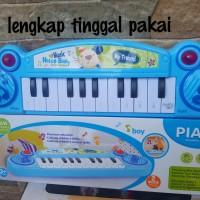 Mainan anak bayi perempuan laki laki musik gitar piano