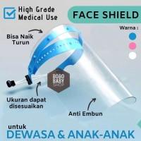 FS1 Face Shield High Grade Dewasa dan Anak / Pelindung Wajah APD