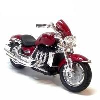 Diecast Miniatur Motor Harley Triumph Rocket III skala 1/18 Bburago