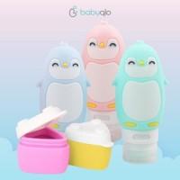 Babyqlo Travel Bottle Pinguin set