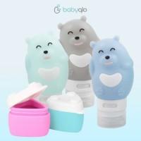 Babyqlo Travel Bottle Bear set