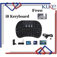 Keyboard Air Mouse i8 Mini Keypad Wireless Touchpad - NO LED