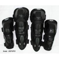 Deker Decker Motor Polkadot Pelindung Lutut Siku Kualitas Bagus