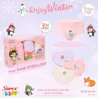 Sorex CD Anak Wanita Enjoy Winter CD SK NA470 Super Soft