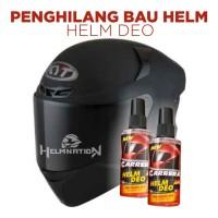 Parfum Helm Deo 60ml Penghilang Bau Helm Jaket Sepatu