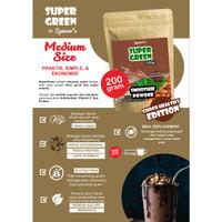 BUBUK MINUMAN SEHAT PREMIUM DIET KETO SUPER GREEN FOOD SMOOTHIE 200 GR
