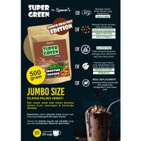 BUBUK MINUMAN SEHAT PREMIUM DIET KETO SUPER GREEN FOOD SMOOTHIE 500 GR