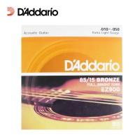 Senar Gitar Akustik D'Addario (10) EZ900 Extra Light Gauge Daddario