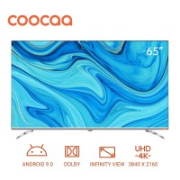 COOCAA 65 inch 4K Android 9.0 Smart LED TV- Dolby Vision- Wifi (65S6G)