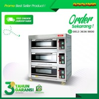 Oven Gas ASTRO 3 Deck 6 tray OVG-36