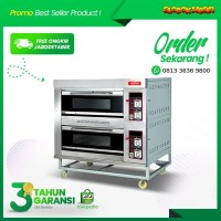 Oven Gas ASTRO 2 Deck 4 Tray OVG-24