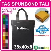 (38x40x8 cm) Tas Kain / Goodie Bag / Spunbond / goody polos
