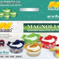 Panci penghangat makanan Magnolia food warmer nagako 4in1