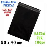 Kantong plastik online amplop plastik online polymailer +lem uk 30x40
