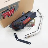 Knalpot Racing R9 Misano Full System New Honda Vario 150 - 2018