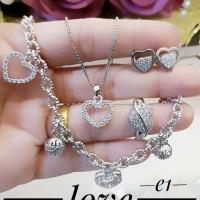 xuping set perhiasan lapis emas a182