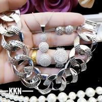 xuping set perhiasan lapis emas a1815