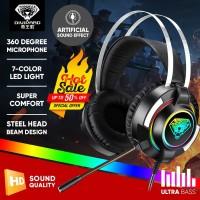 Headset Gaming Divipard H560 Headphone Gamers HD Sound + Microphone