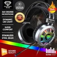 Headset Gaming Divipard H570 Headphone Gamers HD Sound + Microphone