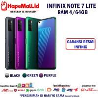 INFINIX NOTE 7 LITE RAM 4/64GB GARANSI RESMI INFINIX INDONESIA