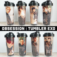 Botol Minum EXO Obsession Versi 3 - Merchandise KPOP EXO-L Unofficial