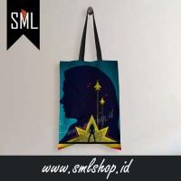 Tote Bag Captain Marvel 005 - Tas Belanja Lipat / Kantong Belanja - S - 29cm x 34cm