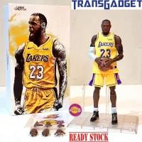 NBA Figure 1/9 - LeBron James 23 LA LAKERS Basket Ball KO Enterbay